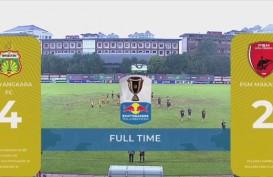 Piala Indonesia: Bhayangkara FC vs PSM Makassar 4-2, PSM harus Menang 2-0 di Leg 2