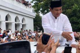 PSU di TPS 172 Pademangan Barat, Prabowo-Sandi Menang…