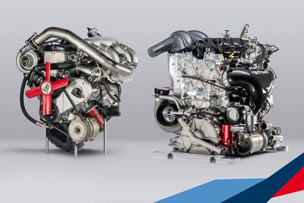 M121 menjadi mesin BMW Turbo pertama dalam balap motor, mesin P48 memenuhi regulasi Kelas 1 akan memulai debutnya di mobil sport BMW M4 DTM. - BMW