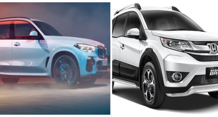 All New BMW X5 dan New Honda BR-V - istimewa
