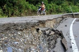 Jalan Trans-Kalimantan Poros Tengah Kalteng Rusak…