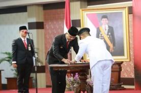 Arif Sugianto Resmi Dilantik Jadi Wakil Bupati Kebumen
