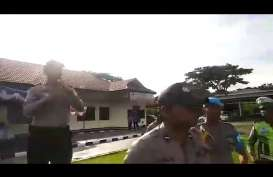 Honor Pengamanan Pemilu Kurang, Personil Polres Halmahera Selatan Ngamuk