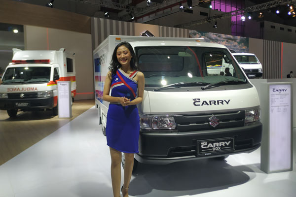 Suzuki New Carry Box. - BISNIS/TOM