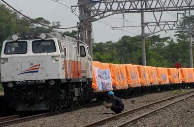 Jalur Rel Kereta Pasuruan Sudah Bisa Dilewati PascaBanjir