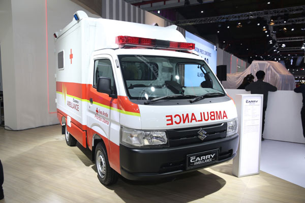 Suzuki New Carry Ambulance. - BIsnis.com