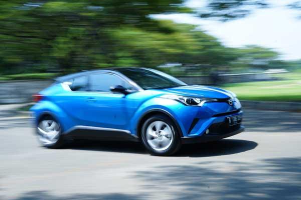 All New Toyota C-HR. - Bisnis.com