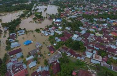 Pemulihan Kelistrikan Pascabanjir Bengkulu Capai 68 persen