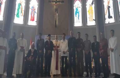 Gubernur Isran Noor Resmikan Katedral Samarinda