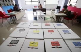 Real Count KPU : PDIP, Golkar, Gerindra Sementara Kuasai Tiga Besar