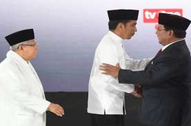 Hasil Akhir Hitung Cepat LSI Denny JA : Jokowi-Ma'ruf…