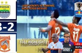 Piala Indonesia: Persib Tekuk Borneo FC 3-2, tapi Tersingkir, Bornoe FC ke Semifinal. Ini Videonya
