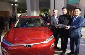 Mobil SUV Hyundai Kona Resmi Mengaspal di Pekanbaru