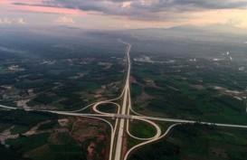 Melihat dari Udara Keindahan Simpang Susun KM 108 Tol Bakauheni-Terbanggi Besar