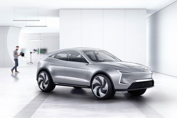 Salah satu mobil listrik yang telah dipasarkan itu ialah Seres SF5 model coupe sport utility vehilce (SUV). - foto driveseres.com