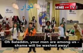 Video Anak Muslim AS Nyanyikan Lagu Jihad Palestina Beredar di Dunia Maya