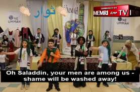 Video Anak Muslim AS Nyanyikan Lagu Jihad Palestina…