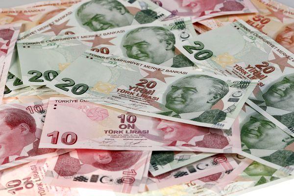 Uang lira Turki. - Reuters/Murad Sezer