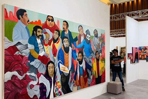 Salah satu sajian di Art Moments Jakarta 2019. - artmomentsjakarta.com