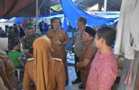 Sidak di Pasar Sabbang, Wabup Thahar Harap Ketersediaan Sembako Tetap Aman