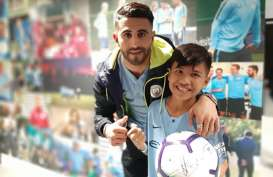 Kisah Rizky, Korban Gempa Palu Nonton Langsung Man City Taklukkan Leicester