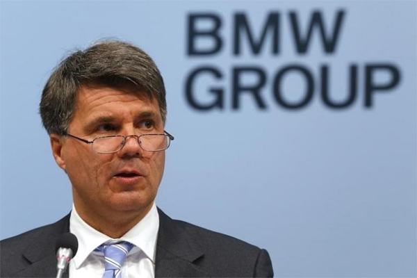 Harald Krueger, Chief Executive BMW. - REUTERS