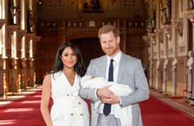 Gantengnya Anak Pangeran Harry dan Meghan Markle