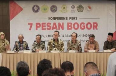 Gejolak Pascapilpres, Berikut 7 Pesan dari 7 Rektor dan Pimpinan Perguruan Tinggi di Bogor