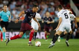 Liga Eropa : Valencia vs Arsenal, Babak Pertama 1-1, Gol Gameiro dan Aubameyang