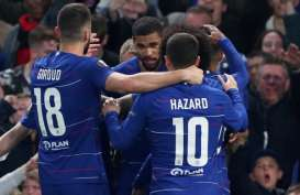 Liga Eropa : Chelsea vs Frankfurt, Babak Pertama 1-0 Gol Ruben Loftus-Cheek