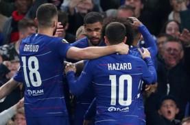 Liga Eropa : Chelsea vs Frankfurt, Babak Pertama 1-0…