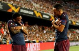 Hasil Pertandingan : Aubameyang Hattrick, Arsenal Lolos ke Final Liga Eropa