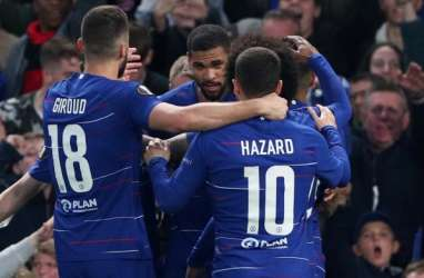 Imbang 1-1, Chelsea vs Frankfurt Ditentukan Melalui Tambahan Waktu