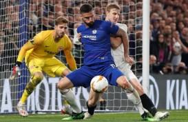 Chelsea vs Frankfurt : Gol Azpilicueta Dianulir, Laga Ditentukan Lewat Adu Penalti