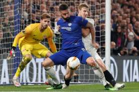 Chelsea vs Frankfurt : Gol Azpilicueta Dianulir, Laga…