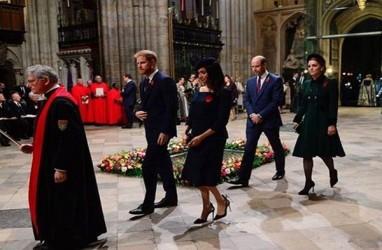 Pangeran William-Kate Middleton dan Pangeran Harry-Meghan Markle Luncurkan Layanan Kesehatan Mental