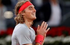 Hasil Tenis Madrid : Hajar Nadal, Tsitsipas ke Final vs Djokovic