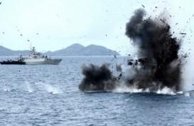 13 Kapal Ikan Asing Ilegal Dimusnahkan