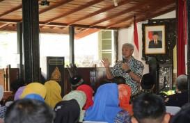 Ganjar Mediasi Sengketa Penggusuran Rumah Pembangunan BKT Semarang
