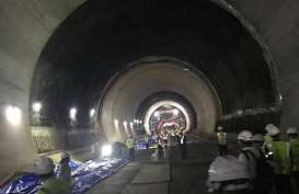 Terowongan Walini KCJB Tembus 608 Meter Dalam 15 Bulan