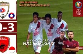 AFC Cup: PSM Makassar ke Semifinal, Hajar Lao Toyota 3-0. Ini Videonya