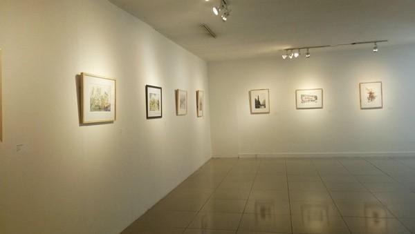 pameran seni lukis cat air di Gedung C Galeri Nasional Indonesia