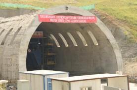 Terowongan Kereta Cepat di Walini, Jabar Akhirnya…