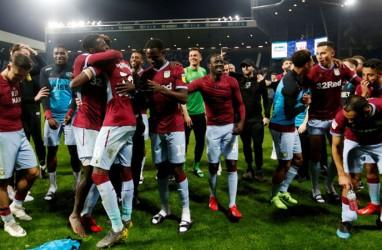 Villa Selangkah Lagi Susul Norwich & Sheffield Promosi ke Liga Primer