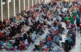 Sampah di Masjid Istiqlal Capai 1 Ton Per Hari