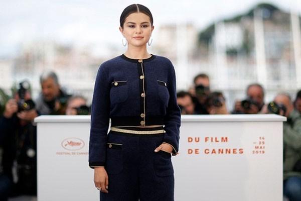Selena Gomez di Festival Film Cannes 2019 di Prancis. - Reuters