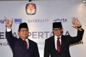 Prabowo-Sandi Kalahkan Jokowi-Ma'ruf di Jakarta Timur