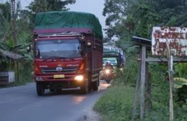 Jadwal Operasional Truk Tambang Bogor-Tangerang Diubah
