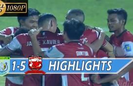 Liga 1: Derby Jatim Persela Dihajar Madura United 1-5. Ini Videonya