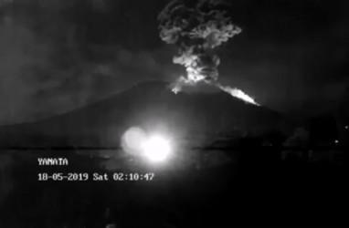 Letusan Gunung Agung Berhenti, tapi Status masih Siaga III. Ini Videonya